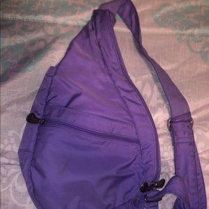 Purple sling/ fanny pack